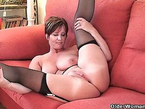 Handjob mature granny