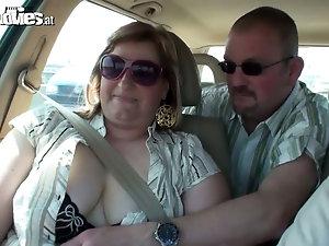 Long dick fucks wife