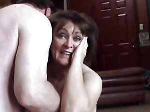 Mature woman creampie