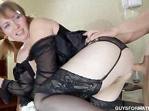 Raunchy mature porn