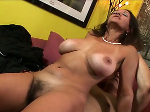 Mature milf rides husbands dick