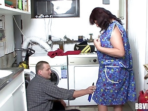 Variant does Bbw mature kitchen xxx remarkable, rather