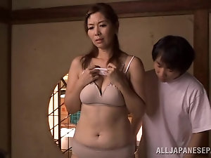 Uncensored Asian old mature think, that