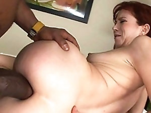 Hungry client sucks black cock before anal