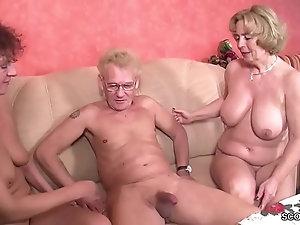 Woman Oma und opa porn did her