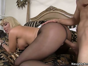 Fucked In Tights - Old Women Pantyhose Videos - The Mature Porn