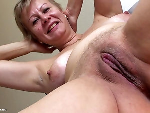 Woman using pussy