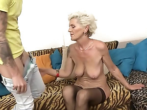 Older granny sex video