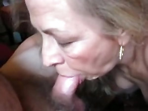 Gradually. a great blowjob granny gives naughty you