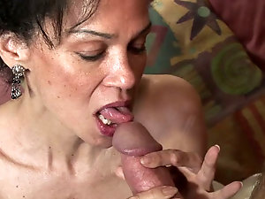Mature handjob Sexy women