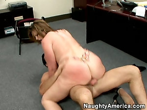 Fucking a cum filled ass