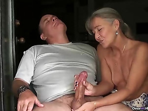 Mature handjob porn right! think