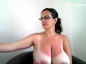 Something is. Big busty mom after 45 nude