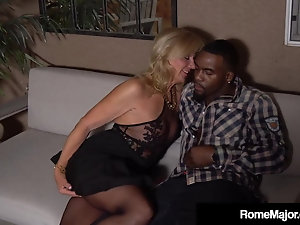 British amateur slut dominated in interracial threesome