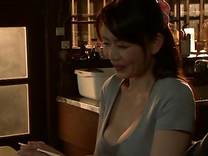So pretty japanese brunette wife make an amazing homemade