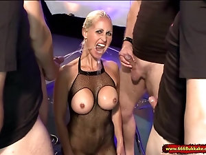 Swedish nude shower