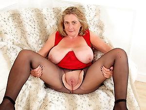 Foot nylon porn stocking